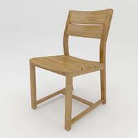 3D mistra chair model