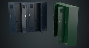 3D locker 1a