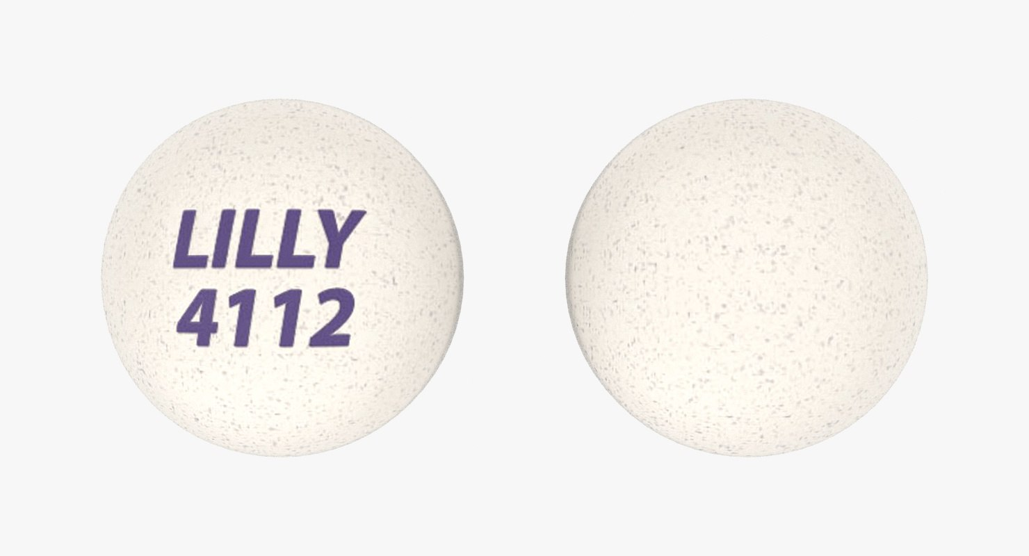 olanzapine 2 5 mg 3D model