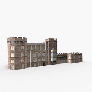 3D model castello aselmeyer