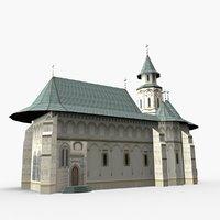 putna monastery model