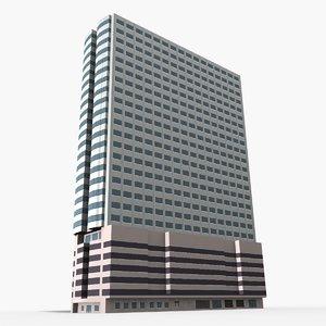 3D sub kaew tower model