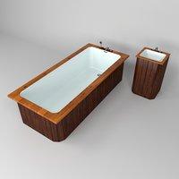 bath washbasin 3D model