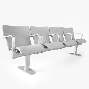figueras seats benches 633 3D model