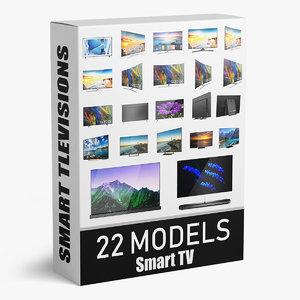 3D smart tv 22 model