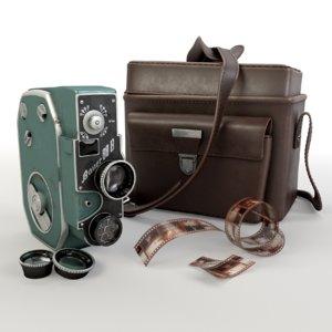 3D retro bauer 88b camera