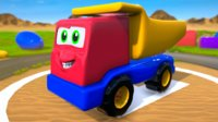 Truck Cartoon Toy Vehicle