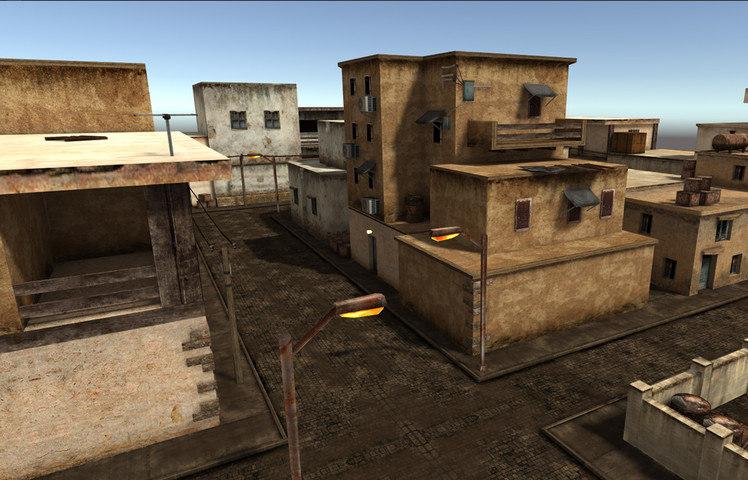 buildings arabic city model