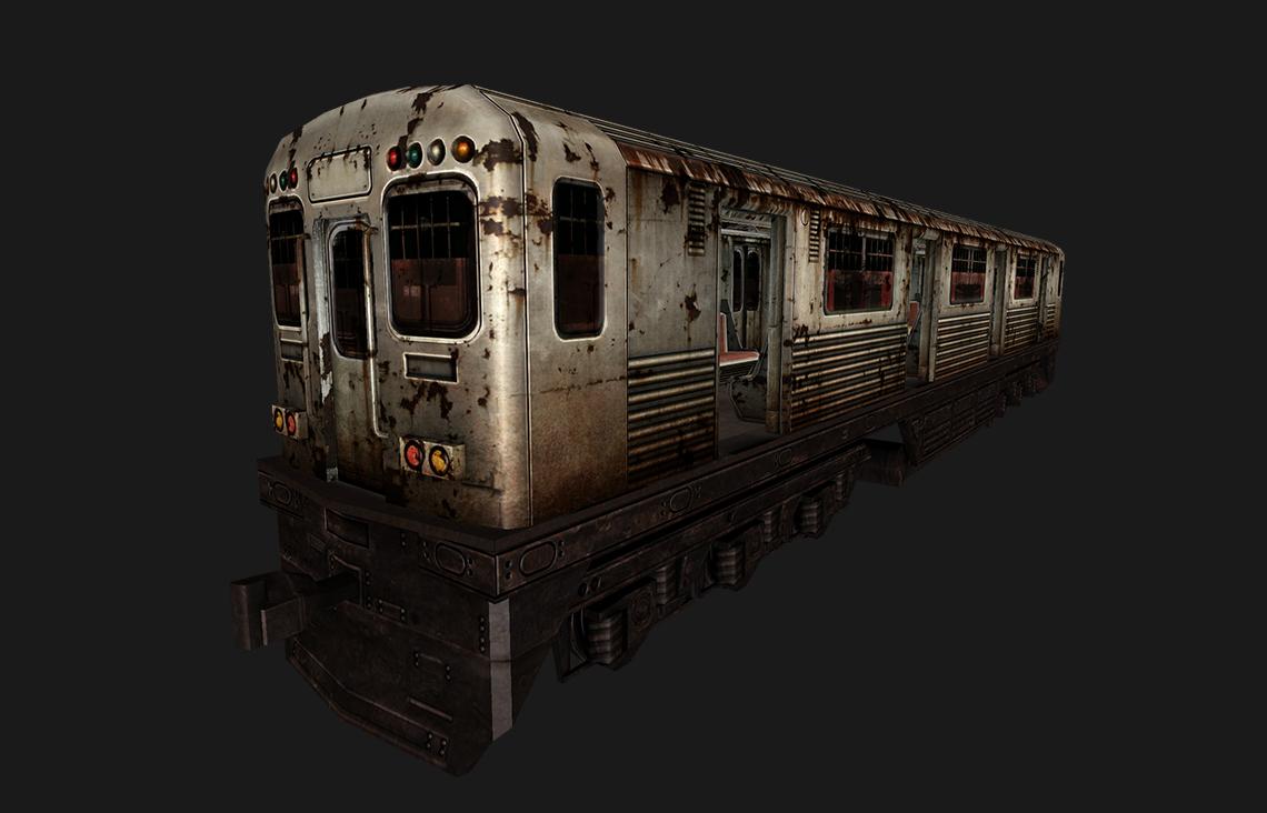 subway metro 3D model