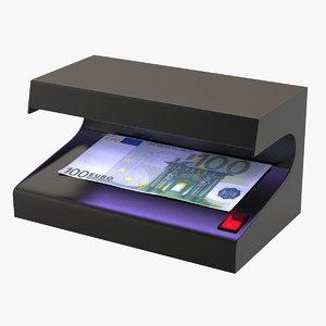 money detector 3D model