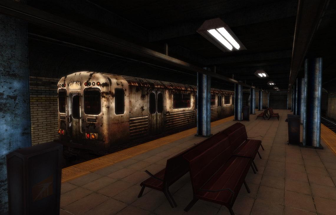 3D urban subway