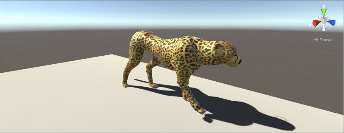 cheetah gepard 3D model