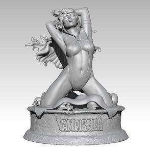3D vampirella princess model