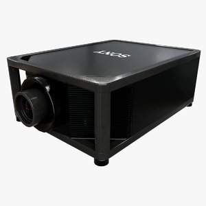 sony projector 3D model