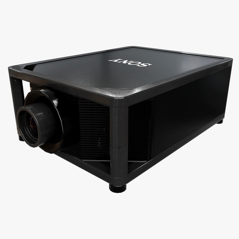 sony projector 3D model