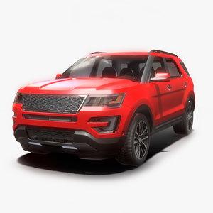 modern suv car model