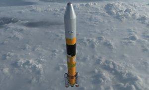 h-iia rockets 3D