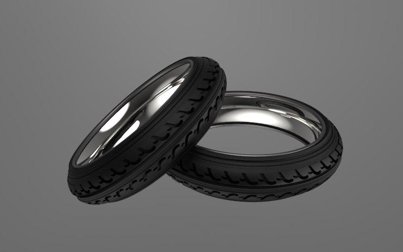 3D bike tire