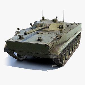 3D soviet bmp-3 model