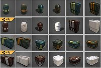 Sci-fi containers pack