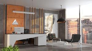 office interior 3D