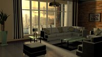 Living Room / Apartment