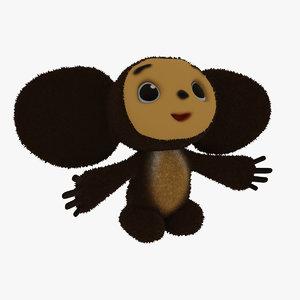 cheburashka 3D model