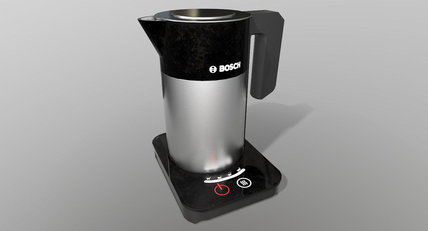 bosh kettle 3D model