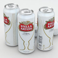Beer Can Stella Artois 500ml