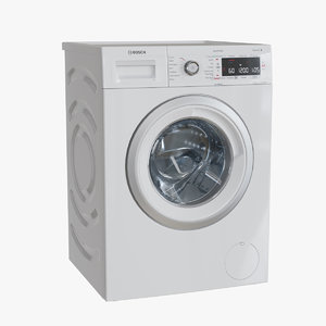 3D bosch washing machine