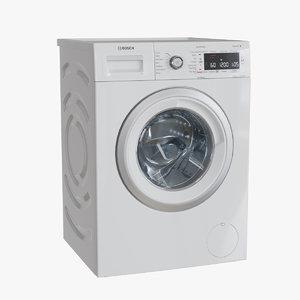 3D bosch washing machine