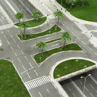intersection road object model