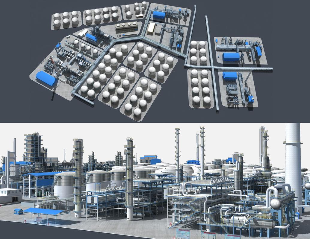 3D petrochemical