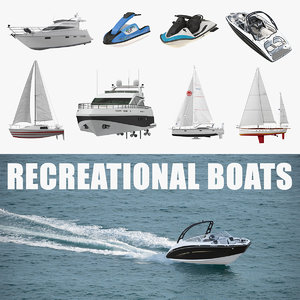 3D recreational boats 2