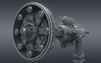 Sci-Fi Ray Gun Blaster