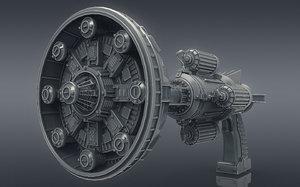 gun blaster model