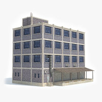 3D ready industrial building factory