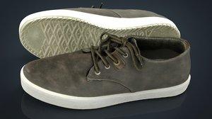 realistics sneakers 3D model