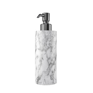 white marble soap dispenser 3D model