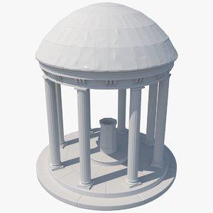 old 3D model