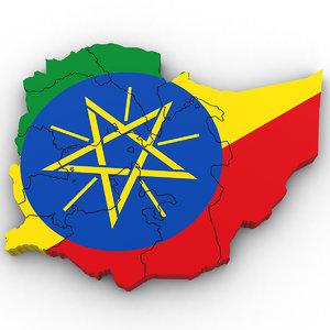 3D ethiopia regions