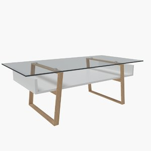 contemporary coffee table 06 3D