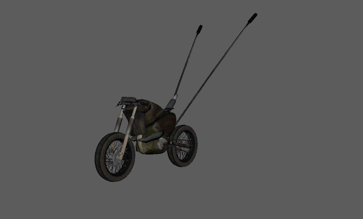 mad bike 3D model