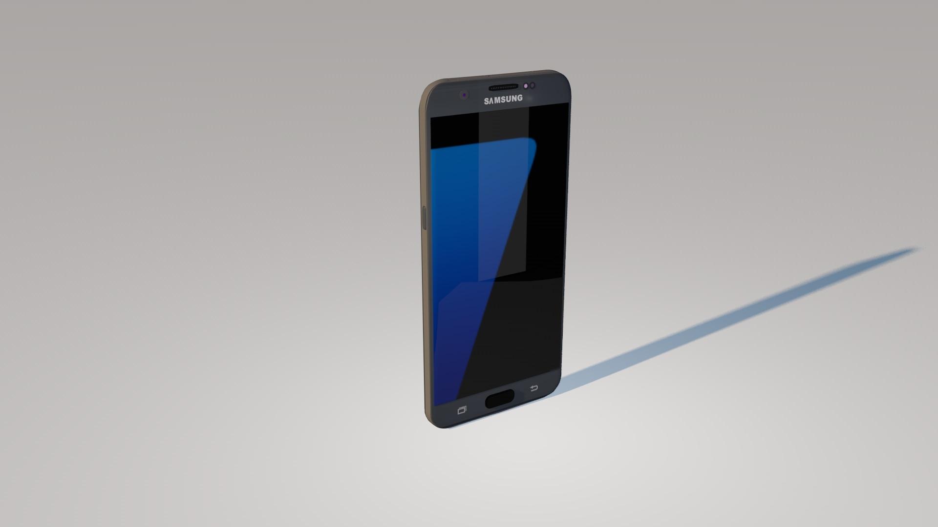 Modelo 3d Samsung Galaxy S7 Gratis Turbosquid 1304386