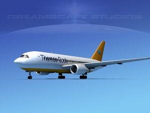 airline boeing 767 767-200er model