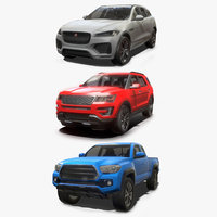 SUV Low Poly Collection