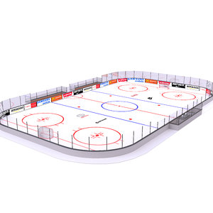 ice hockey 3D model