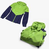 3D set female sport jacket