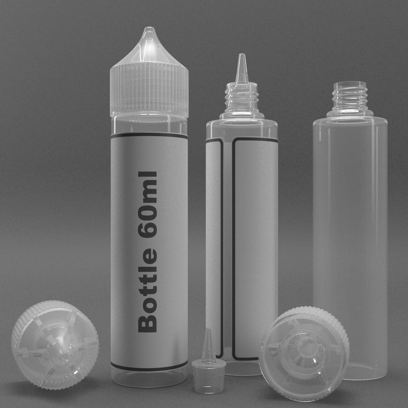 bottle 60ml type1 3D model