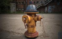 hydrant 3D model